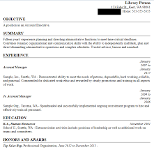 Sample Resume Created In Builder