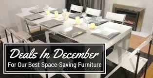 The Best Space Saving Furniture Deals are in December