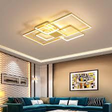 verllas decke beleuchtung für wohnzimmer esszimmer gold