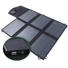 Amazon SUNKINGDOM™ 13W USB Solar Charger with High