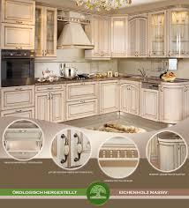 landhausküche antibes l form küchenzeile 3x2m massivholz eiche creme