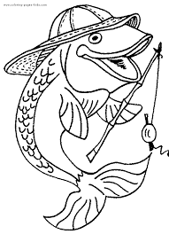 Top Coloring Pages Fish Child Design Ideas
