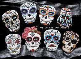 Sugar Skull Pumpkin Carving Patterns by 16 Sugar Skull Cookies Designs U2013 Top Cheap U0026 Easy Halloween Party