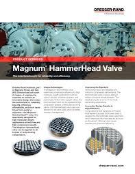 Siemens Dresser Rand News by Magnum Hammerhead Valve Brochure Dresser Rand Pdf Catalogue