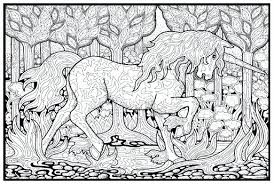 Unicorn Coloring Pages Hard Line Art Page Free Clip Pictures