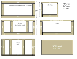 custom diy garage overhead cabinet plans using plywood and ceiling