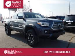 100 V6 Trucks For Sale Used 2016 Toyota Tacoma At Ken Garff Hyundai VIN