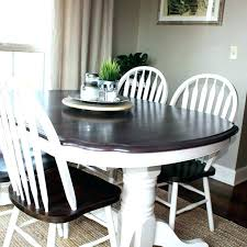 Chalk Paint Dining Room Tables Kitchen Table Transformation Using