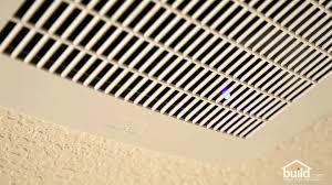 Humidity Sensing Bathroom Fan Heater by Delta Breez Humidity Sensor Exhaust Fan Review Youtube