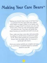 the vintage toy chest free crochet patterns love this care bear