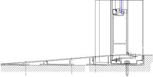 bottom rail detail yhc 300 ssg 08 44 13 curtain wall ykk