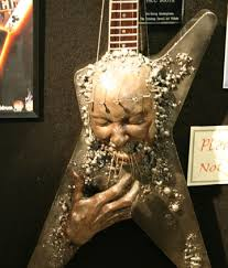 There Were Others With Amazing Paint Jobs And Some That Even Scuplturessuch As This One From The Dimebag Darrell Art Collection