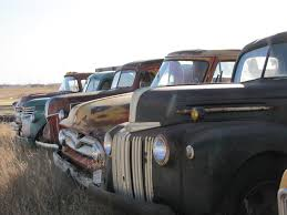 100 Car And Truck Auctions SOLD S All Lined Up In North Dakota Sold By VanDerBrink