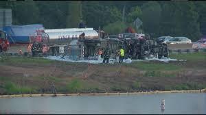 100 Rush Truck Center Orlando Tanker Truck Overturns On I4