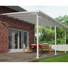 Palram Feria Patio Cover Uk by Palram Patio Cover Palram Feria 10x14 Patio Cover Gray Free