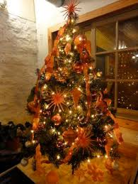 Orange Christmas Tree 24 Beautiful Trees