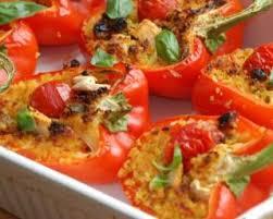 cuisiner les poivrons rouges recette de poivrons rouges vitaminés au quinoa spécial contrôle du