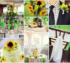 Sunflower Summer Wedding Decorations