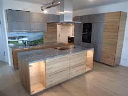 metod küche in rustikaler eiche und betonoptik küchenfront 24