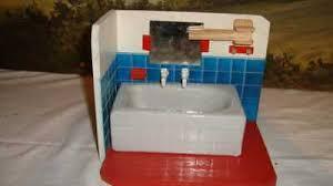 altes puppenbad badezimmer ddr um 1970 erzgebirge eur 33
