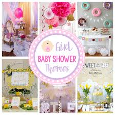 Cute Girl Baby Shower Themes Ideas FunSquared