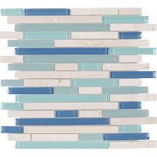 shop elida ceramica water springs brick linear mosaic and