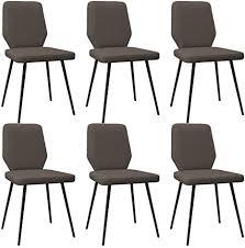 vidaxl 6x esszimmerstuhl küchenstuhl stuhl polsterstuhl