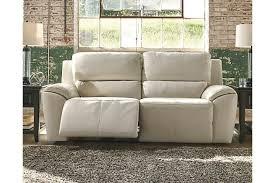 Ashley Furniture Hogan Reclining Sofa by Cream Valeton Power Reclining Sofa View 1 Width 86 U0027 U0027depth 39