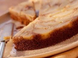 Pear Upside Down Gingerbread Cake Recipe
