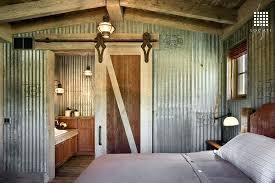 Rustic Bedroom Decoration Guest With Hardwood Floors Cooper Mystic Black Outdoor Hanging Lantern Diy