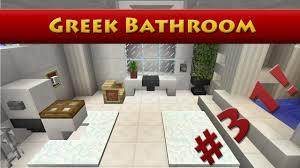 minecraft tutorial 31 greek house how to build a bathroom hd