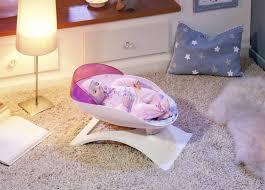baby annabell puppenwiege für puppen bis 46 cm weiß