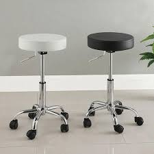 Swivel Vanity Stool With Adjustable Height