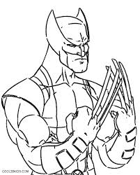 Printable Coloring Pages Disney Princess Wolverine For Kids