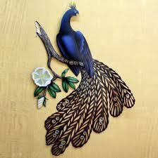 Large Peacock Wall Art