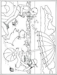 Coloring Pages Free Printable Summer For Adults Flowers Kids Archives Animals