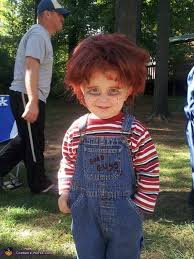 Chucky Halloween Mask by Lil U0027 Chucky Halloween Costume Photo 3 3