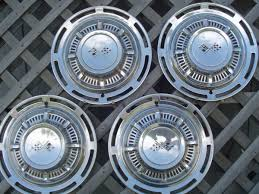 1959 Chevrolet Impala Hubcaps Wheel Covers Center Caps Antique Vintage