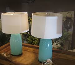 Ottlite Desk Lamp Colour Changing by Furniture Marvelous Pair Of Light Blue Porcelain Lamp With White