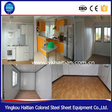 100 Prefab Container Houses Hot Sale Sandwich Panel House For Mining Camp