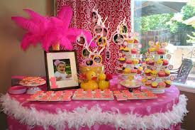 1st Birthday Table Decorating Ideas Webtechreview Scheme Of Party Decoration Simple