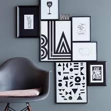 bilderrahmen aufhängen ideen tipps living at home