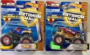 100 Team Hot Wheels Monster Truck Jam Lot Of ARDIAFM