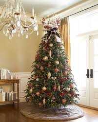 Unlit Christmas Tree 9 by Bh Noble Fir Flip Tree Balsam Hill