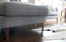 Karlstad Sofa Leg Hack by Ikea Couch Hack Popsugar Home