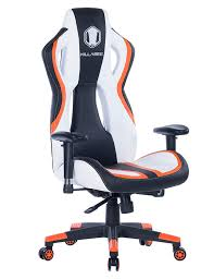 Amazon.com: HEALGEN Gaming Chair Racing Style High-Back PU Leather ... Racing Gaming Chair Black And White Moustache Executive Swivel Leather Highback Computer Pc Office The 14 Best Chairs Of 2019 Gear Patrol Pc 2018 Amazon A Full Review 10 Of Ficmax Ergonomic Style Highback Replica Grant Featherston Contour Lounge Chair Ebarza Mdkstorehome Chair Desk Under 200 Rlgear Most Popular Comfortable