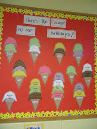 Birthday Bulletin Board To Add Some Fun Color Our Classroom