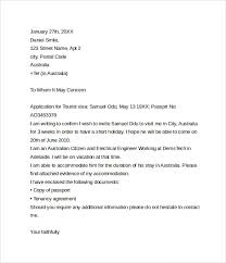 How To Write A Letter Invitation For Visa Application Letter