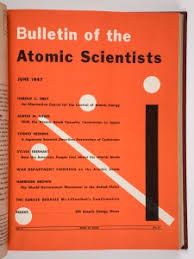 1947 Issue Of The Bulletin Atomic Scientists When They Debuted Doomsday Clock JB Spector Museum Science And Industry