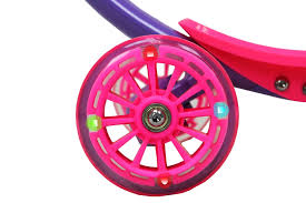 Zycom Zipster Scooter W Light Up Wheels Purple Pink